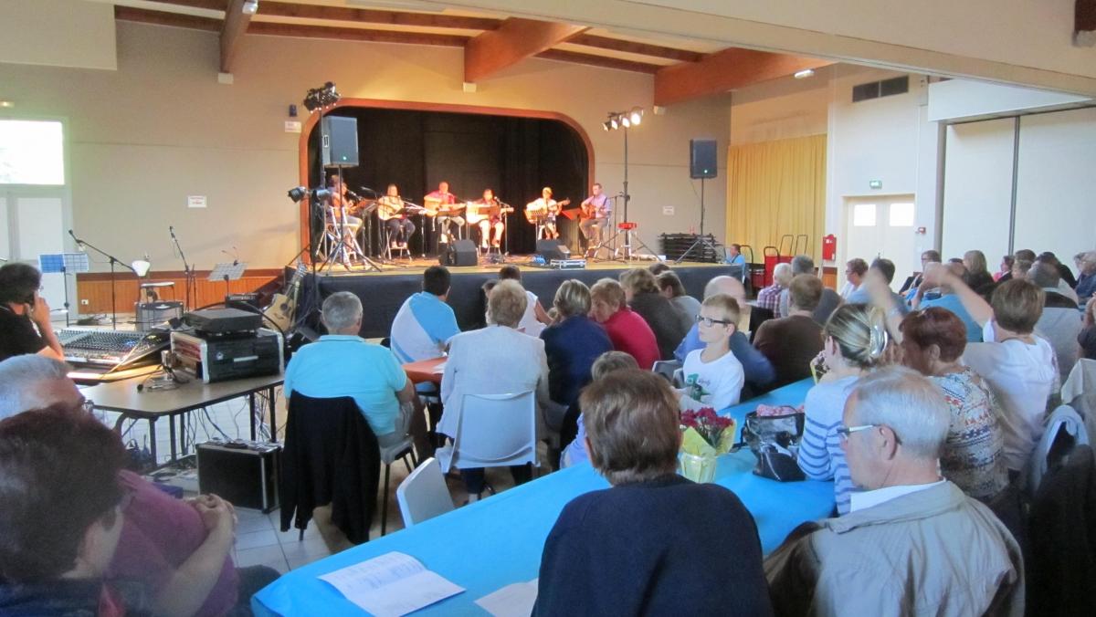 Concert Gratouille Chantante 3 Juin 2017 Mairie Demouville